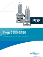 Flygt 5100-5150 Pumps