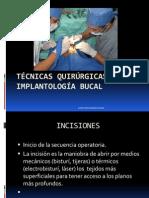 tecnicas quirúrgicas