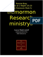 Shafovaloff's Error on 2 Nephi 25.23  Robustly Rebutted