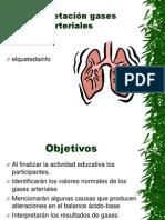 Intepretación gases arteriales