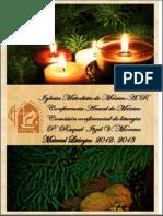 Lecturas Bíblicas Adviento 2012.-- Comisión Conferencial de Liturgia, CAM