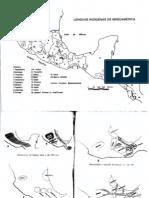 Mapas Lenguas Indigenas de Mesoamerica