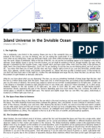 Island Universe in the Invisible Ocean