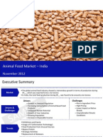 Market Research Report :Animal Feed Market in India 2012