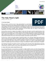 The Holy Moon's Split