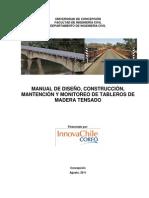 Manual Puente de Madera