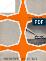 Mississippi Architect, October 1964