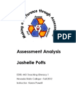 Assessment Analysis