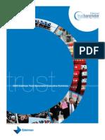 Edelman Trust Barometer 2009 Summary