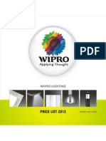 Wipro List Price 2012-13