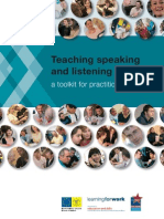 Teaching Speaking and Listening a Toolkit for Practitioners