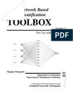 Neural Network Based System Identification