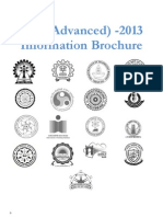 JEE Adv 2013 Information Brochure