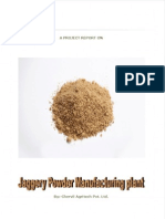 Jaggery Powder Plant Project