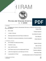 (eBook - Massoneria - ITA) - GOI - Hiram - Rivista Del Grande Oriente d'Italia - 2005 Vol. 1