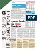 TheSun 2009-01-29 Page12 Japan Sees Msia Most Attractive FDI Destination
