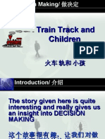 Train Track And Children