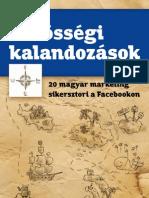 Közösségi kalandozások - 20 magyar marketing sikersztori a Facebookon - könyv