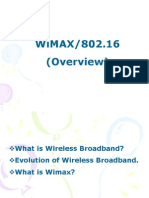 Overview of Wimax