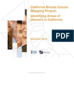 California Breast Cancer Mapping Project Final Report November 2012