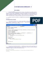 Creación de Aplicaciones multiusuario Access - 2