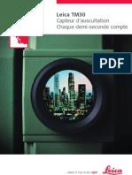 TM30 Brochure Fr