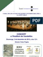 Concert Auditori Vandellós