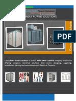 LuckyIndiapowerSolutions Catalogue