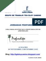 Jornadas Almagro[1] Grupo Tgd Eloy Camino