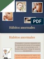 6.- Hábitos anormales Dr. Emmanuel