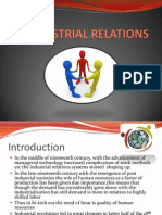 Industrial Relations New