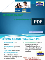 LIC Jeevan Anand Policy  Call your LIC agent  Anandaraman R Mob