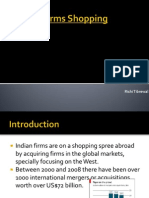 Indian Firms Shopping Abroad:Trend, Reasons and Impact