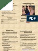 Formation de reboutement niveau 1 et 2