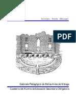 Acinipo (Ronda, Málaga) Cuaderno del alumno