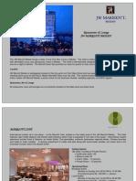 JW Marriott Medan Restaurants Lounges Informations