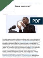 Inliniedreapta.net-Am Spus Eu CA Obama e Comunist