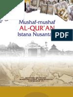 Mushaf-mushaf al-Qur'an Istana Nusantara