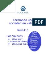 Proyecto de Formando Una Sociedad de Valores