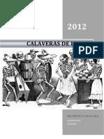 Calaveras 2012