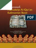 Khazanah manuskrip Qur'an di Kalimantan Barat