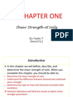 Lecture-1 Shear Strength of Soils