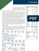 Market Outlook 291112