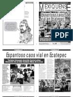 Versión impresa del periódico El mexiquense 29 de noviembre 2012