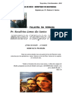 MINHAS TERÇAS FEIRAS