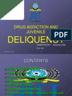 Drug Addiction and Juvenile Deliquency-reuben