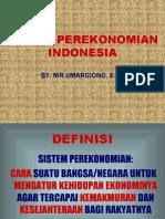 Bab 17 - Sistem Perekonomian Indonesia