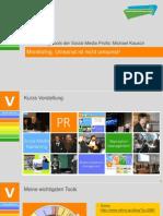 Monitoring - Umsonst ist nicht umsonst - Social Media Economy Days 2012