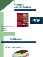 MerriamWebsterEncyclLiterature(Rudd)
