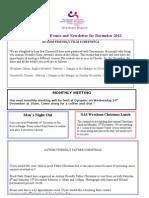 NAS Cymru Wrexham branch newsletter